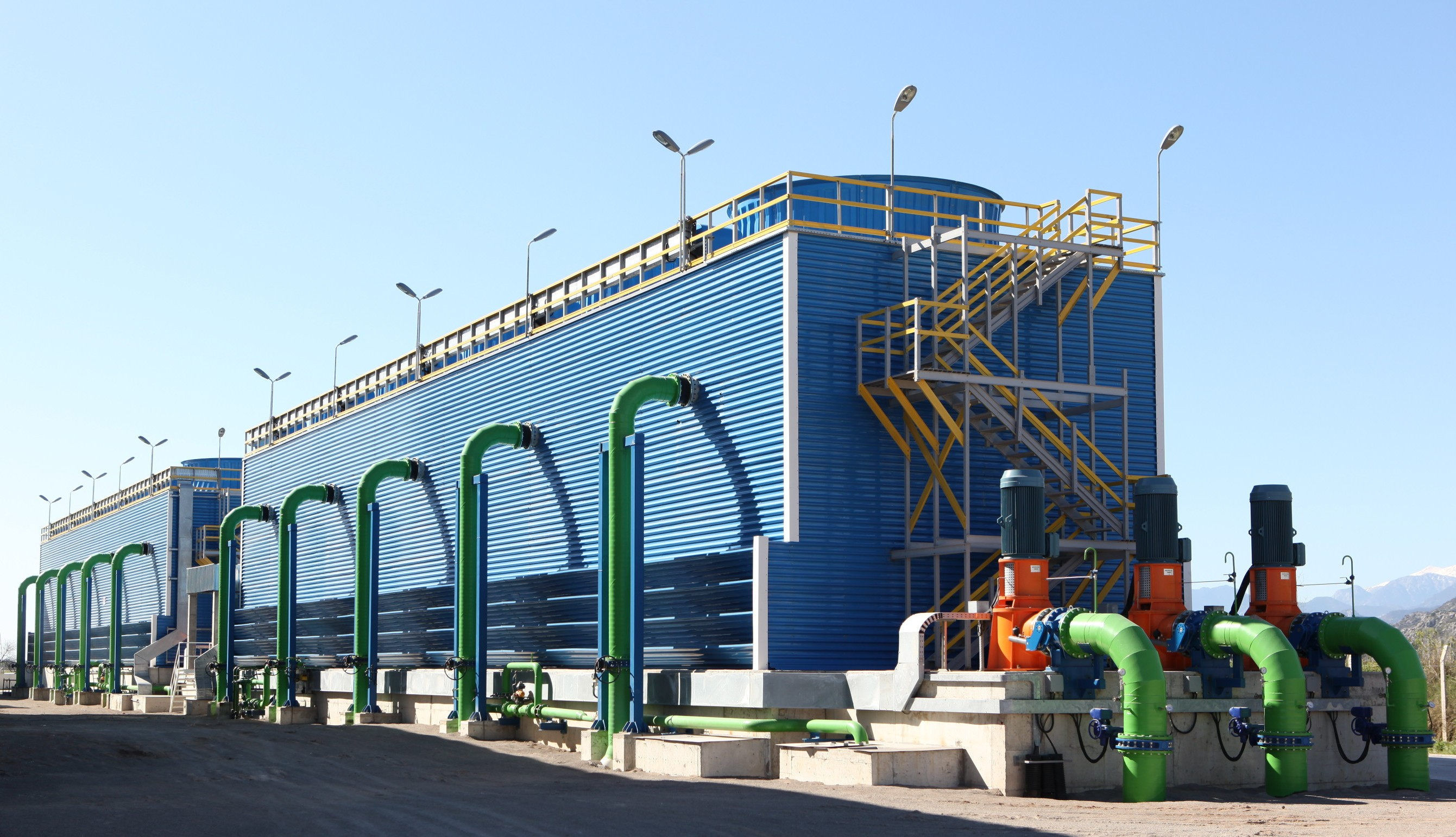 Cenk_Endustri_Field_Erected_Industrial_Cooling_Tower